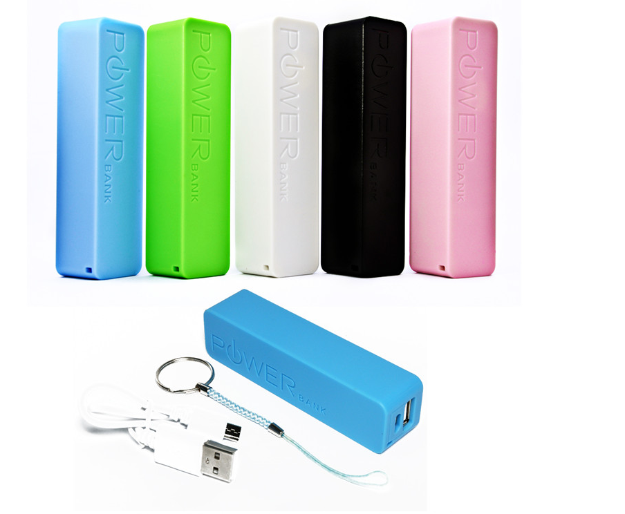 NEW Arrivals power banks charger Power Banks with logo for power bank 2600mah gift