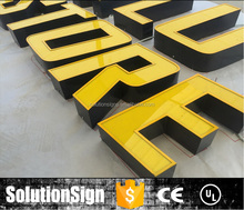 High Illuminated 3D Sign Light Advertising Led Letters