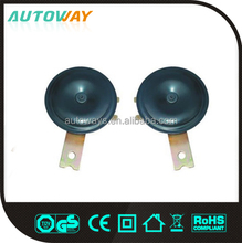 electrical 12v disc car horn sound (low, high)