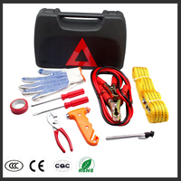Car Vehicle Kit Pharmtech Car Emergency Tool Package Fire Wire Trailer Rope Safety Hammer