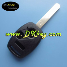 key covers wholesale 2+1panic button for HON car key remote covers plastic key blanks