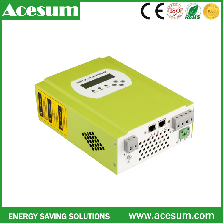 Acesum top quality wind mppt charge controller to charge battery solar power system