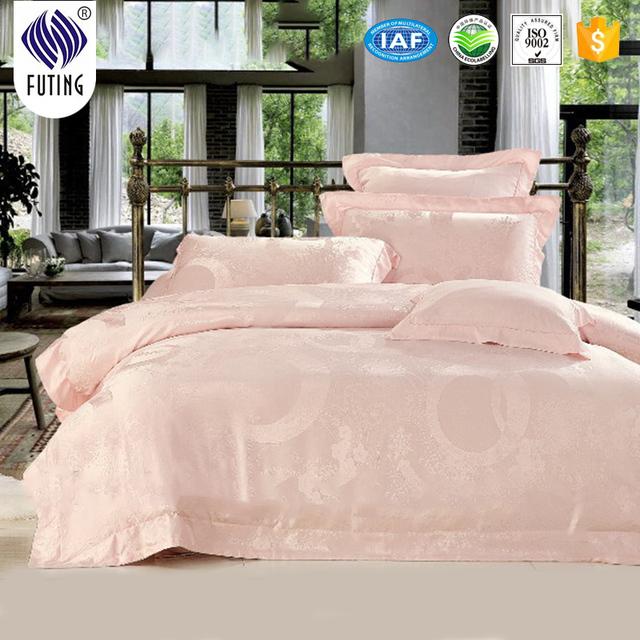 Super comfortable healthy luxury 100% mulberry silk bed sheet set duvet cover set