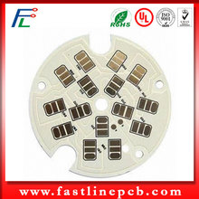 COB Mirror Face Thermal Conductivity PCB 130W Aluminum Base
