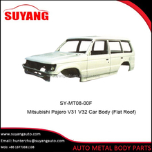 Japanese car Car body for Mitsubishi pajero Auto Body Parts