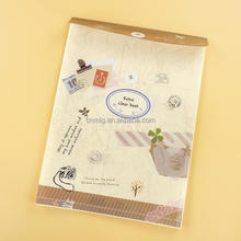 Beautiful Pocket Paper Customized Logo Document File Folder With Button