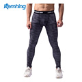 2017 new outdoor sports tights for men to train and workout jogging shorts to compress camouflage pants