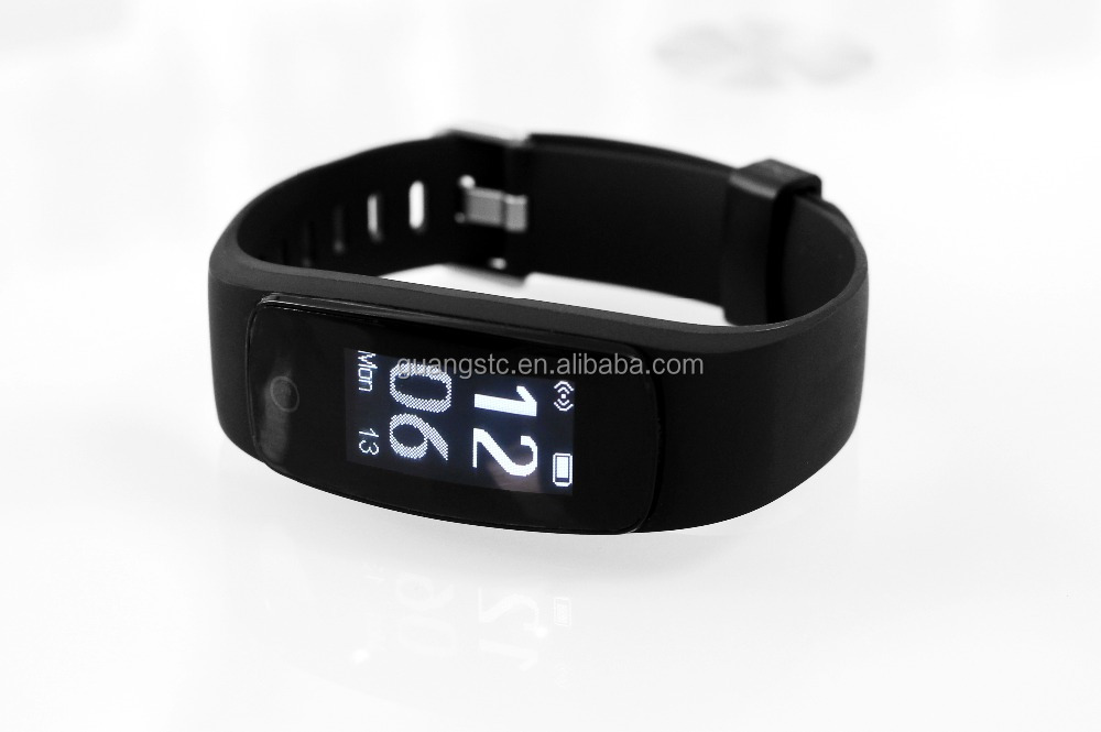 Waterproof IP67 ID107 Plus HR Smartband Heart Rate Bracelet Monitor Wristband Health Fitness Tracking For Android iOS