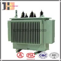 three phase oil immersed electrical 1000kva 1000kw 1000 kw 1000 kva power transformers 11kv to 0.4kv voltage