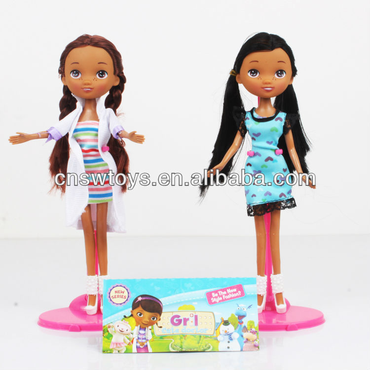 2014 new hot doc mcstuffins doll for kids WW3607010