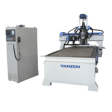 Multi head advertising 3d wood cutting cnc machine with high quality