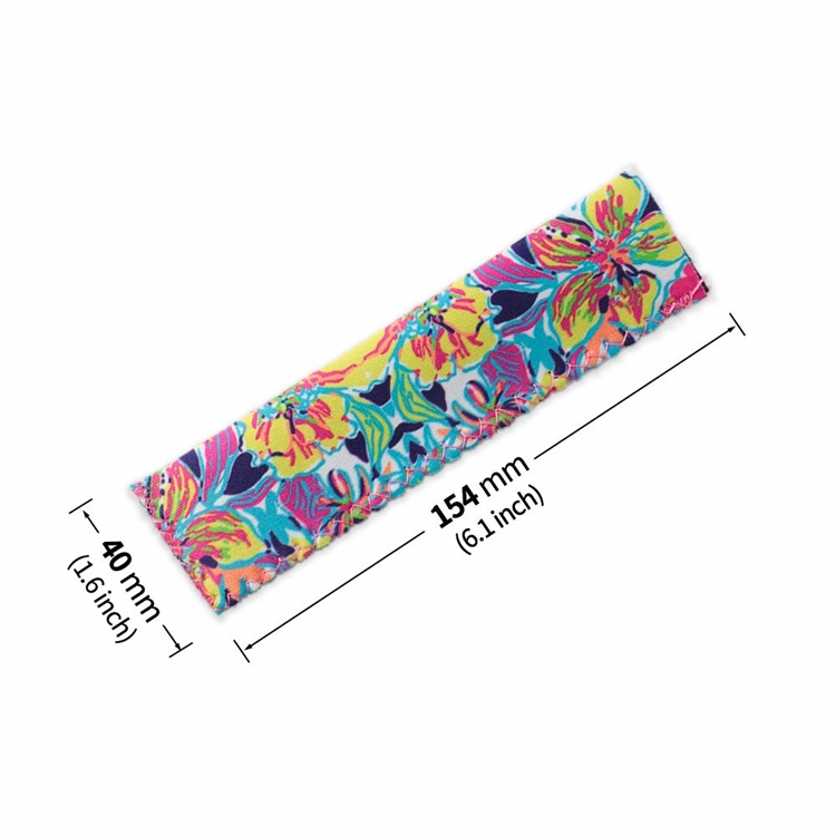 High Quality Colorful Lily Pulitzer Neoprene Ice Popsicle Holder