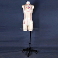 Adjustable tailors half body tailoring mannequin