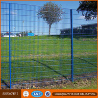 Nylofor 2D fence, Double wire mesh fence, twin wire welded mesh fence
