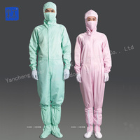 Anti-static dust-proof coverall,esd smock