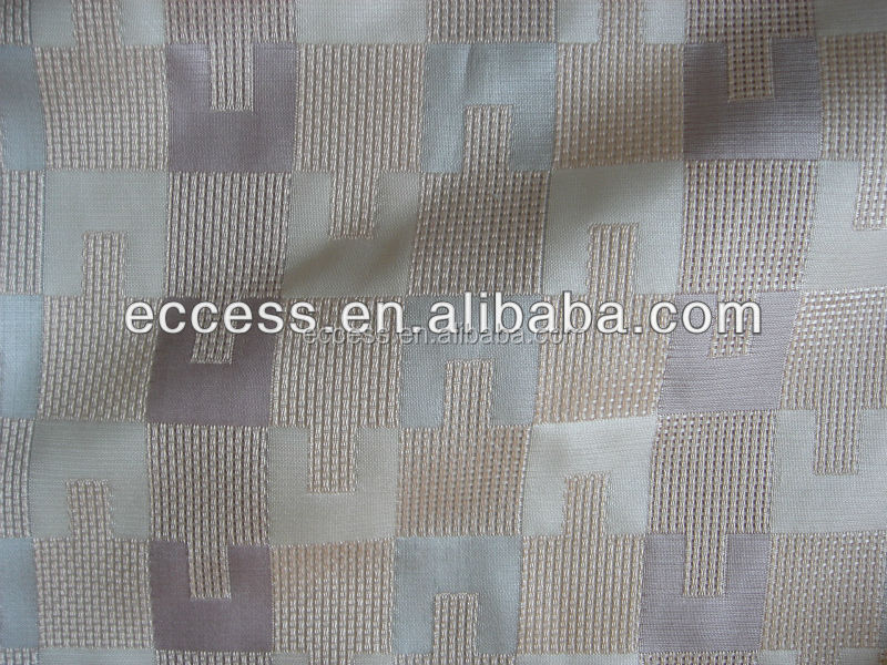 100%polyester material fabric jacquard fabric for sofa cushion cover