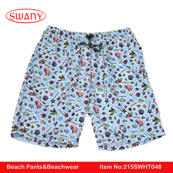 2016 New Sexy Men Summer Microfiber Bearshorts & Swim Shorts