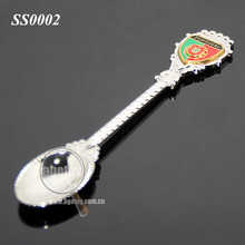 Portugal Tourist Souvenirs Metal Custom Souvenirs Promotional Spoon