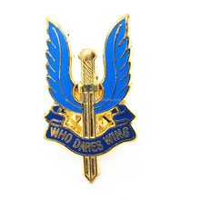 Cheap wholesale metal imitation hard enamel wing logo lapel pin badge