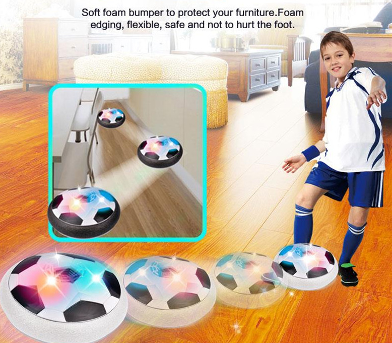Suspended Football Game Air Cushion Football Sports Toy Indoor Football Field Gift Toys
