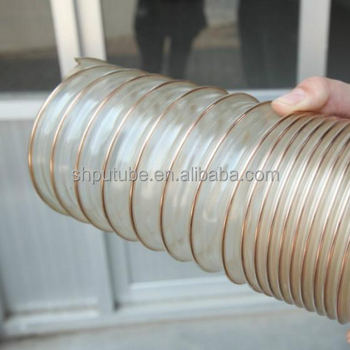 ester based polyurethane PU steel wire shrinkable wind tube