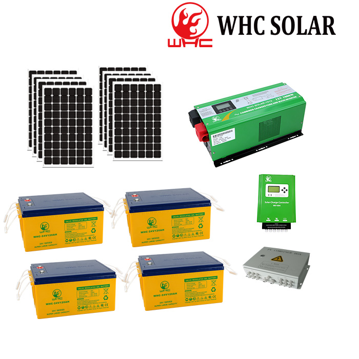 Home application 96V off grid solar system price 5KW