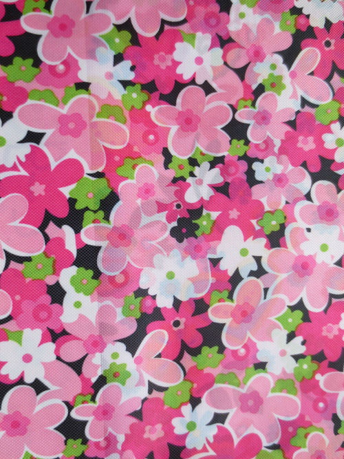 Elegant chrysanthemum patten oxford polyester cloth cloth curtain cloth in Oxford