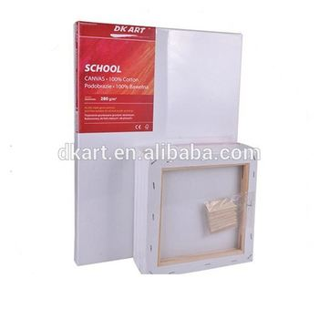 Professional manufacture,factory supply,wholesale stretched canvas with different material for canvas and wood