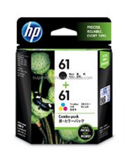 GENUINE (No,61 )CR311AA Hp Black+Colour Original Combo Pack