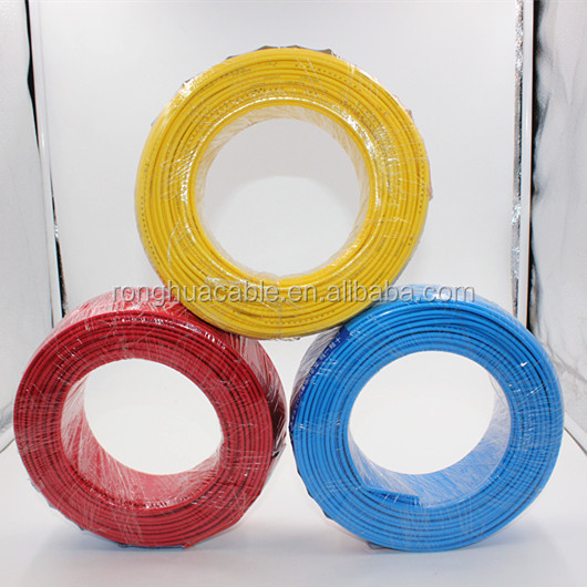 Stranded Conductor Type and PVC Insulation Material wires and cables electrics