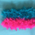 Assorted colors feather boa for party and shows