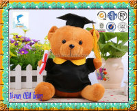customer design 40cm Soft Plush educational teddy bear Toy manufacturer OEM
