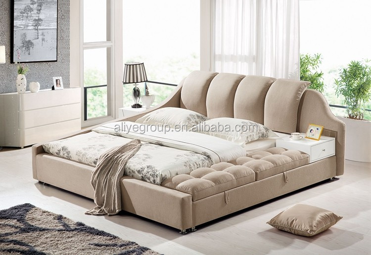 YV687- king size bed modern bedroom furniture