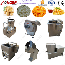 Longer Stainless Steel Semi-automatic Potato Chips Production Line