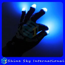 Fashionable Top Sell Led Flashing Gloves Solar Led Light