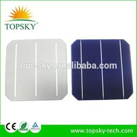 2016 hot sales 156mm mono solar cell solar panel pv cells 6inch mono-crystalline solar cell