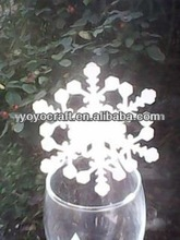 Elegant laser cut christmas party decoration place cards from YOYO crafts for wholesale and retail
