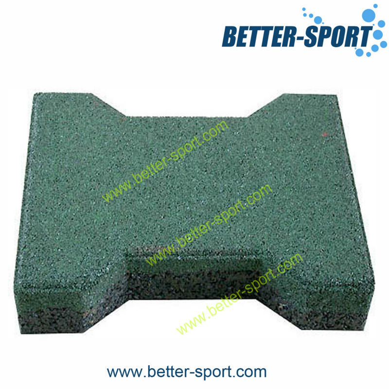 Gym room rubber flooring mats tiles for use