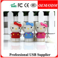 Good quality bracelet usb flash drive with silicone leather PVC material