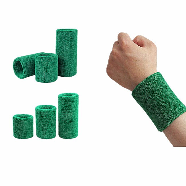 Factory Wholesale Terry cotton Custom sweat wristband/ sweat absorb wrist band