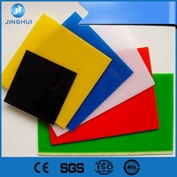 100% raw material high density polyethylene rigid colored flexible 3mm thick acrylic sheet