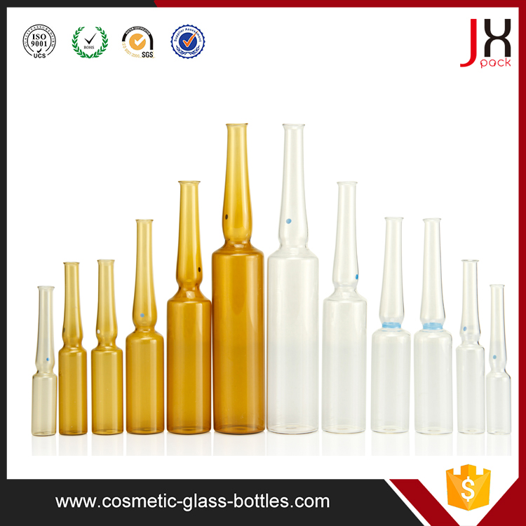 Amber Sterile Glass Ampoule Glass Vial Injection Vials Ampoules Bottles 1ml 2ml 3ml 8ml 10ml