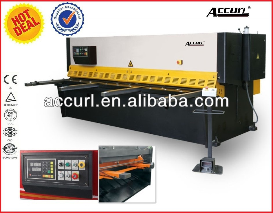 QC12Y-8X3200 NC hydraulic band saw for metal