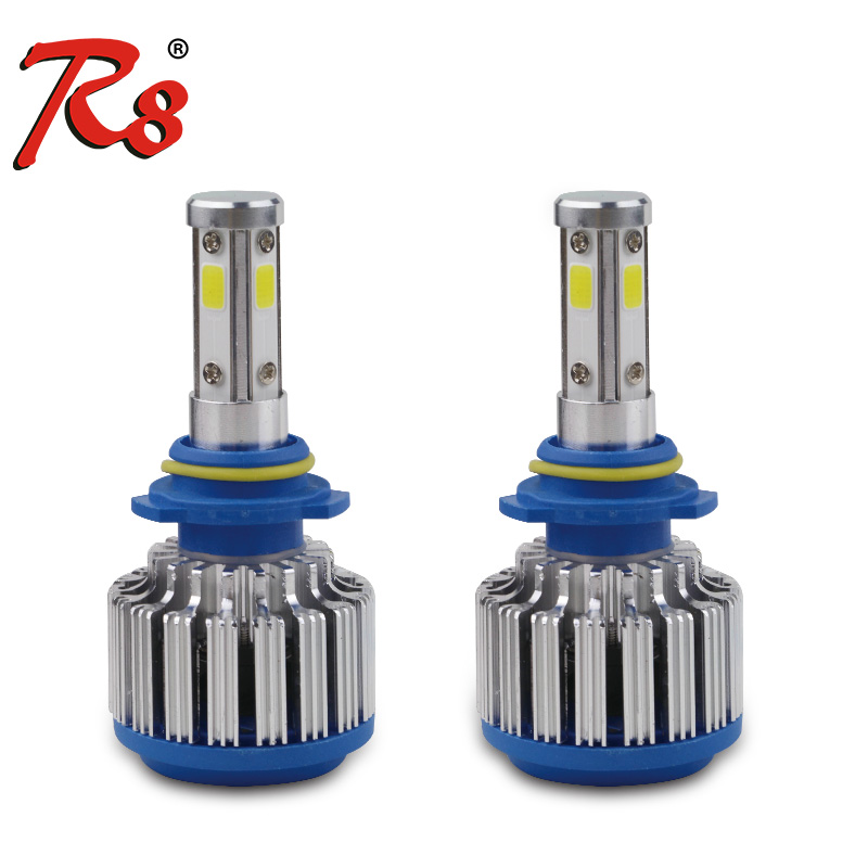 H11 H8 H9 4-Side LED Headlight Fog Bulbs Conversion <strong>Kit</strong> 1400W 210000LM <strong>HID</strong> 6000K