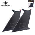 PQY RACING - Spoiler Wing Stabilizer For subaru STI 2015-18 Spoiler Wing Stiffi Support Rally With PQY logo One Pair PQY-WSS02-2