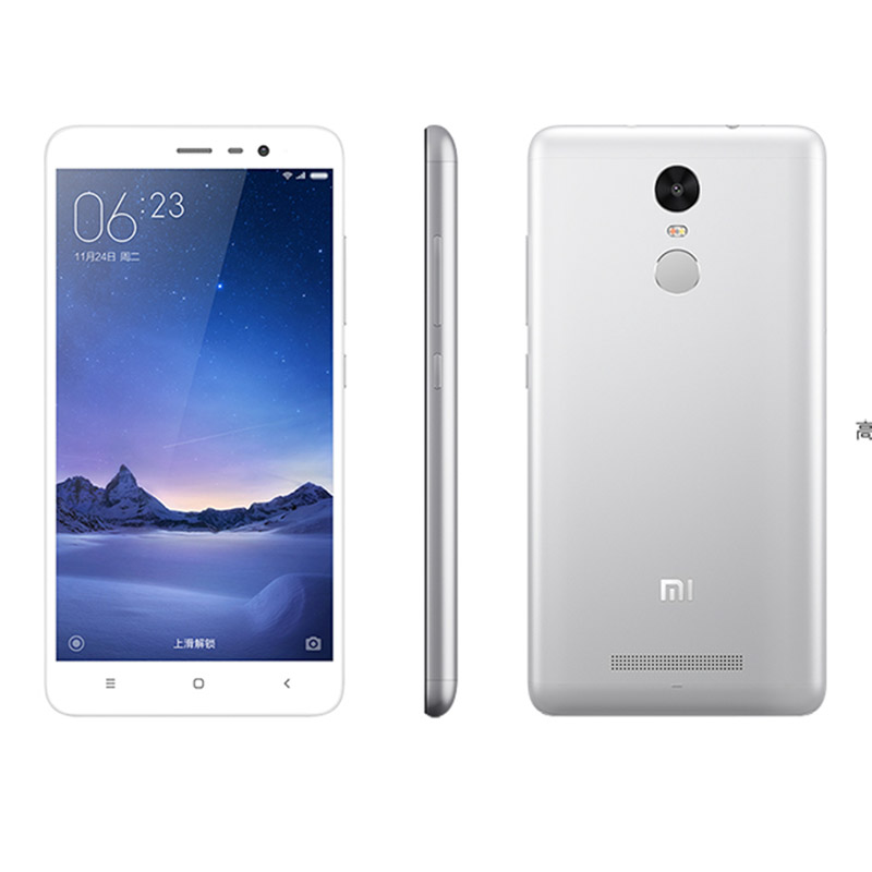 Xiaomi Redmi Red Mi Note 3 Note3 Pro 4 G Free Internet Calls 2GB 16GB or 3GB 32GB Android 6.0 5.5 inch Mobile Phone