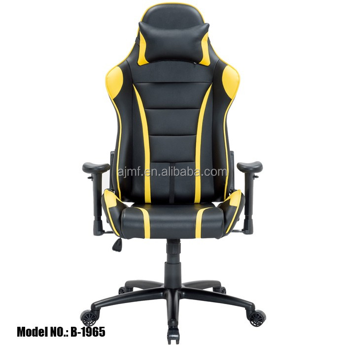 PC racing style computer chair gaming gamer leather office chair executive armchair