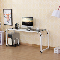 length adjustable pc adjustable desks comptitive price