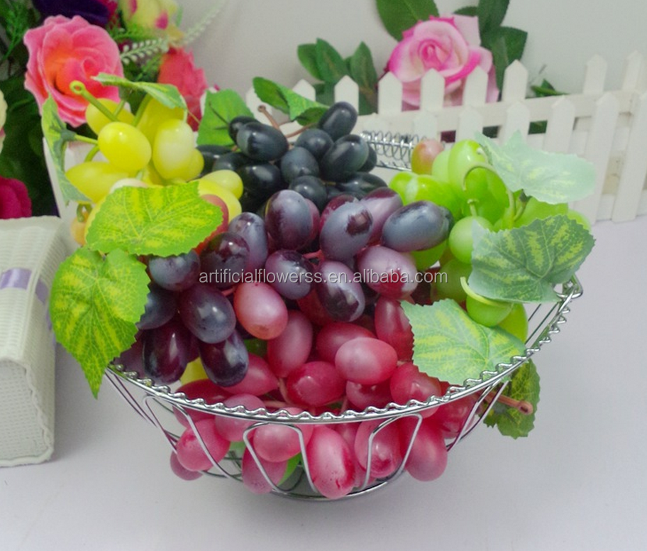 Artificial fruits decorative artificial grapes fake grapes plastic grapes