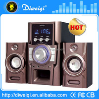 2.1 multimedia enjoy music in different ways speaker compatible for CD/DVD/MP3/MP4/PC